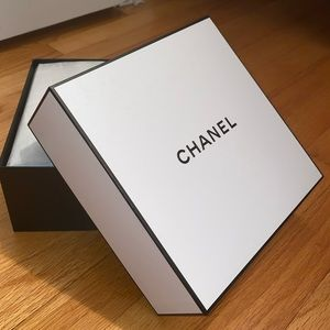 Chanel Box, Pouch, Tissue and Receipt Holder